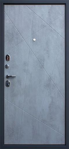 Стальная дверь «Дуэт Б»