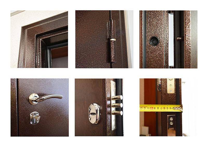 купить стандартную входную металлическую дверь