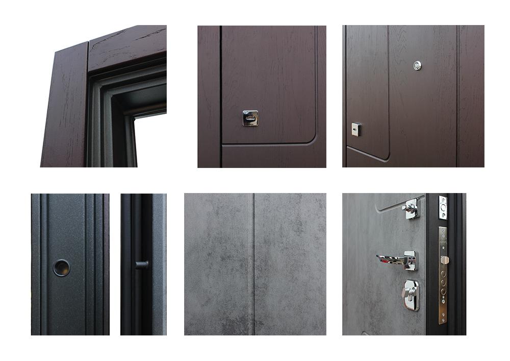 Стальная дверь «Эталон» (заказная)