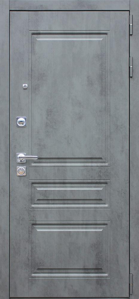 Стальная дверь «Лира с зеркалом»